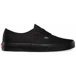 Vans Authentic Unisex Low Top Shoe - Black/Black