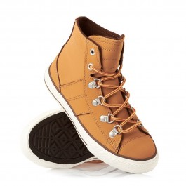 Converse Junior CT All Star HI Sneaker Boot - Brownie