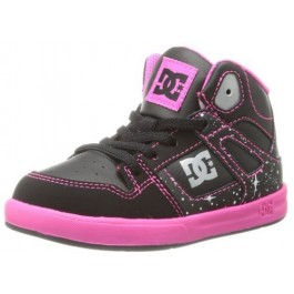 DC Toddlers Rebound SE UL Shoes - Black/Graphic