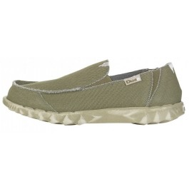 Hey Dude Mens Farty Classic Slip On Mule - Khaki