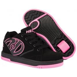 Heelys Girls Propel 2.0 Shoes - Black/Hot Pink