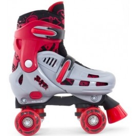 SFR Hurricane Adjustable Quad Skate - Red