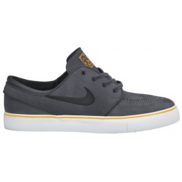 Nike Mens SB Zoom Stefan Janoski Shoe - Dark Grey/Anthracite-University Gold-Blue