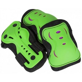 SFR Junior Essential Triple Pad Set - Green