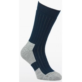 Silverpoint Unisex All Season Wool Hiker Socks - Navy