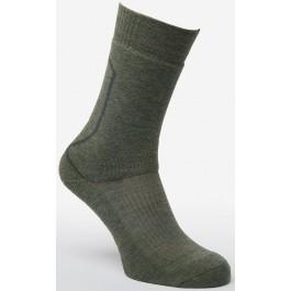 Silverpoint Unisex Merino Mid Hiker Socks - Green