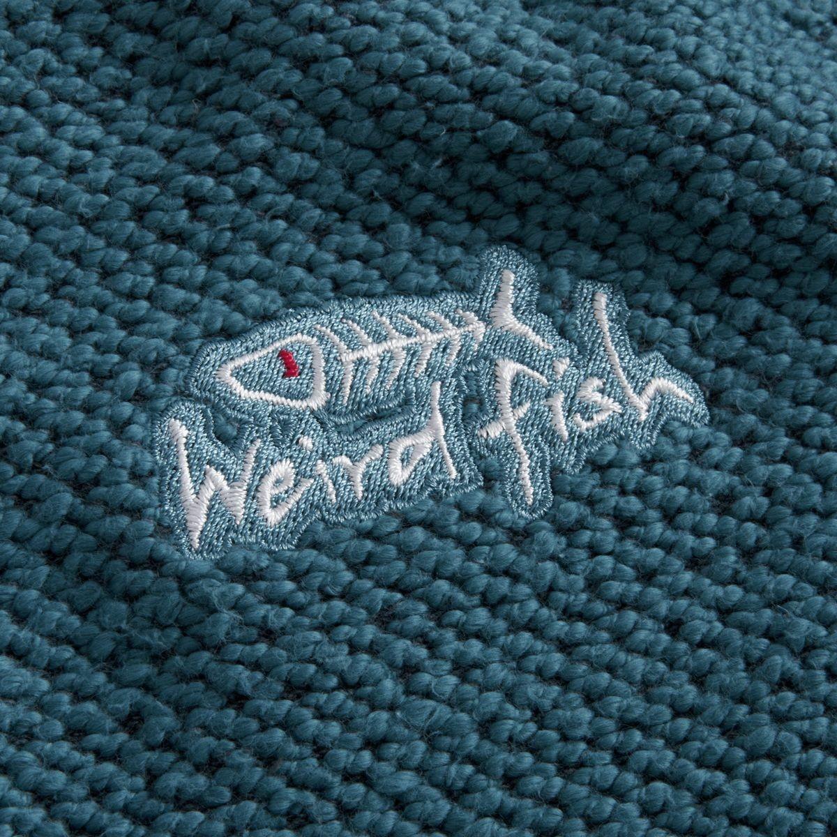 Weird Fish Mens Cruiser Classic 1/4 Zip Macaroni - Adults ...