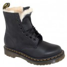 Dr.Martens Womens 1460 Serena Fur Lined Boots - Black