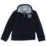 Animal Boys (Youth) Faggle 1/4 zip fleece - Indigo