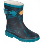 Animal Kids Splashdown Wellington Boot - Teal