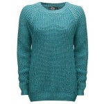 Animal Womens Lilly Sui Knitted Jumper - Dusty Aqua Green