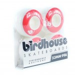 Birdhouse B Logo 4 Pack Of Wheels - 53mm - Red