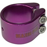 Blazer 2 Bolt Scooter Clamp Plus Shim - Purple