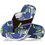Animal Boys Jekyl AOP Flip Flops - Purple