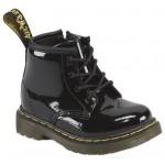 Dr.Martens Brooklee B Patent Lamper Toddler Boots - Black