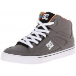 DC Kids Spartan High SE Shoes - Dark Shadow/Black
