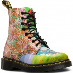 Dr.Martens Womens Pascal Daze Boot - Multi Daze Backhand