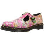 Dr.Martens Womens Polley Daze Mary Jane Shoe - Multi Daze Backhand