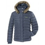 Kanyon Women's Fisher Puffer Jacket - Dark Navy