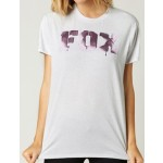 Fox Womens Aimless Relaxed Crew T-Shirt - Heather Rainbow