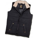 Old Guys Rule Mens Quilted Gilet - Black