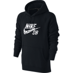 Nike SB Icon Grip Tape Pullover Men's Hoodie - Black/White