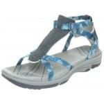 Hi-Tec Womens Harmony Ankle Strap Sandal - Graphite/Cool Grey/Ultramarine