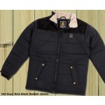Old Guys Rule Mens Quilted Jacket - Black