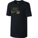 Nike SB Dri-FIT Icon Reflective Men's T-Shirt - Black/Cargo Khaki
