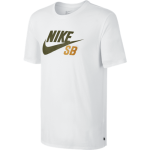 Nike SB Dri-FIT Icon Reflective Men's T-Shirt - White/Cargo Khaki