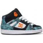 DC Kids Rebound TX SE Shoes - Black/White/Blue