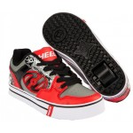 Heelys Motion Plus Shoes - Red/Black/Grey/Skulls