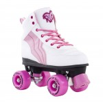 Rio Roller Pure White/Pink Quad Roller Skates