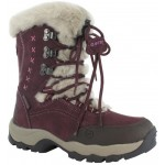 Hi-Tec Womens St.Moritz 200 Snow Boot - Plum/Dark Taupe