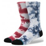 Stance Mens Side Step Patriot 2 Socks - Navy