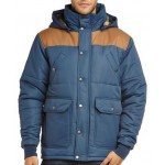 Santa Cruz Mens Threemile Quilted Jacket - Indigo