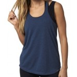 Fox Womens Ultimatum Tech Tank - Heather Electric Blue