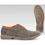 Hey Dude Mens Volterra Canvas Shoes - Brown