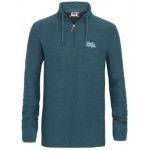Weird Fish Mens Cruiser Classic 1/4 Zip Macaroni - Ensign Blue
